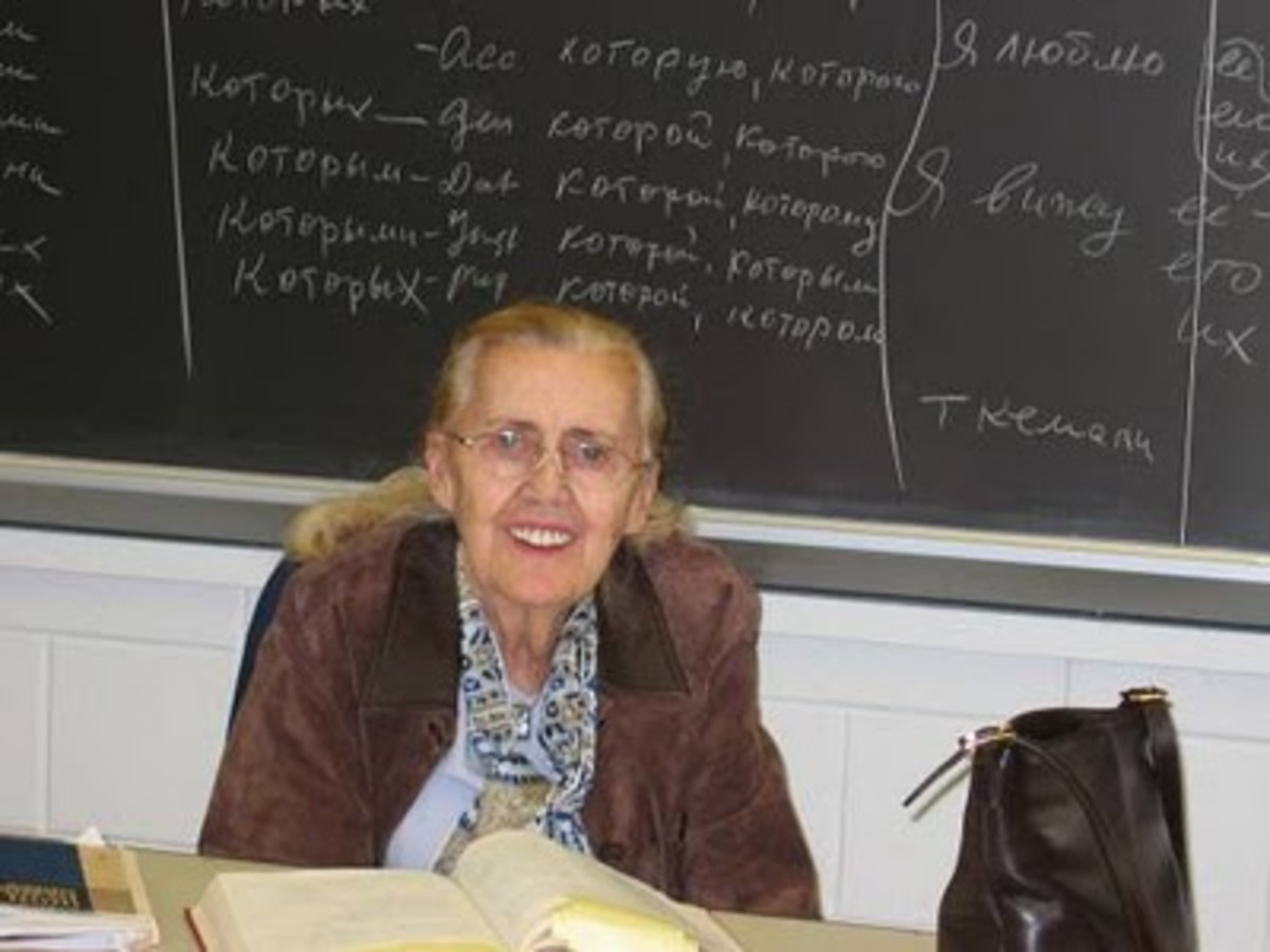 Rimma Palangian: My Russian teacher at UTA