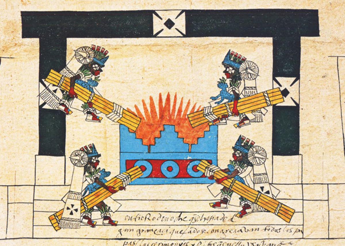 Aztec New Fire Ceremony