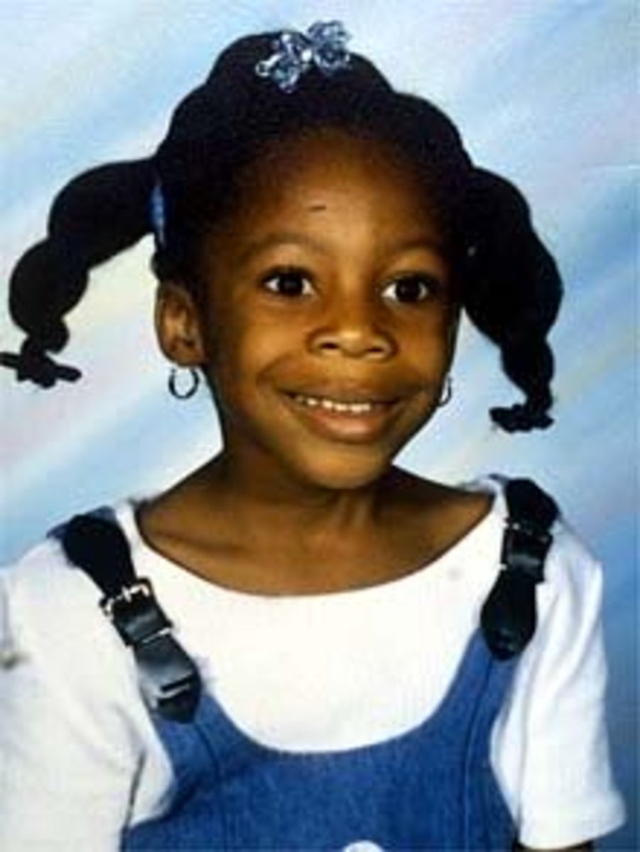 His victim, 6-year-old Tiffany Eunick.