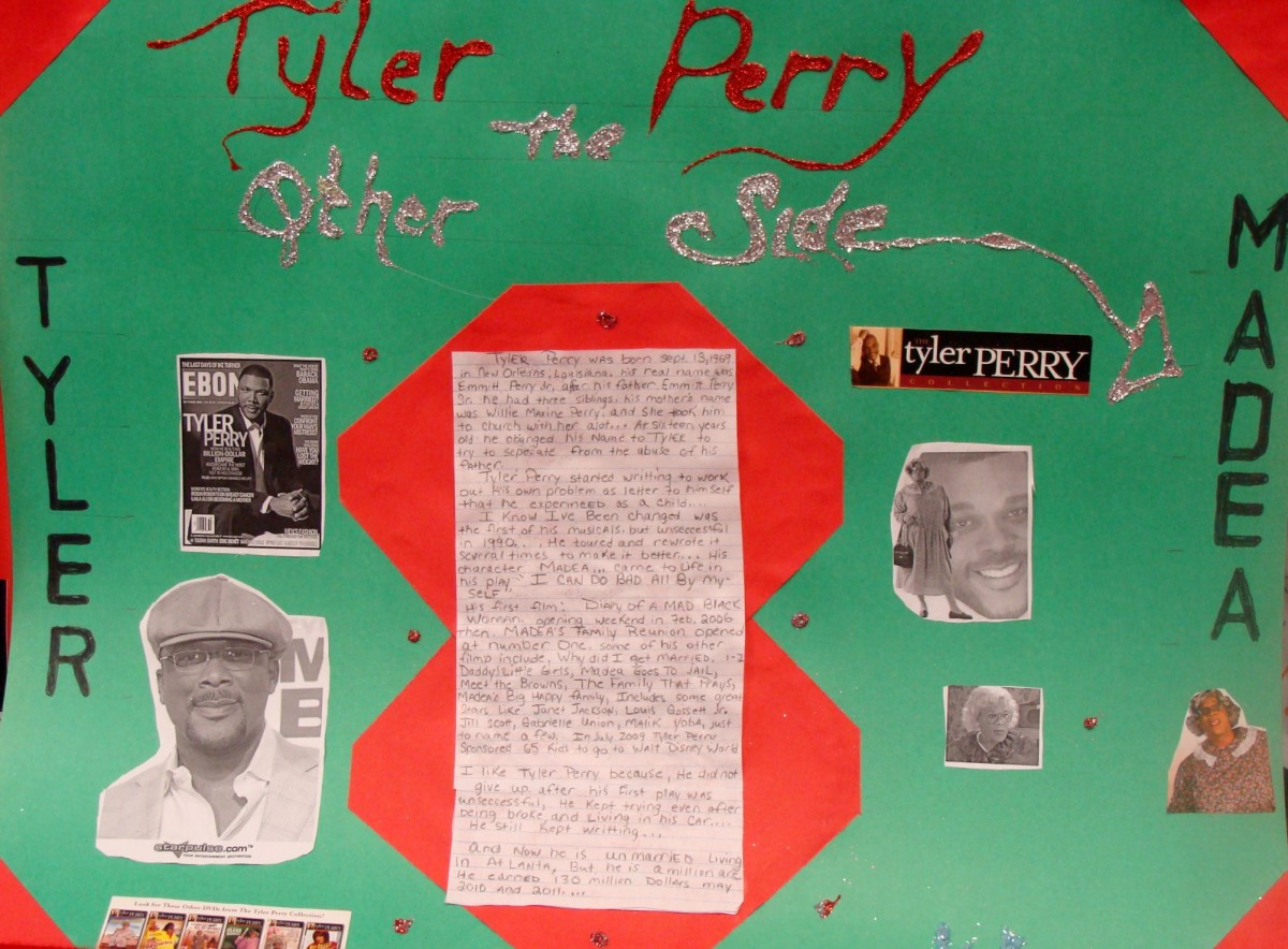Project on Tyler Perry