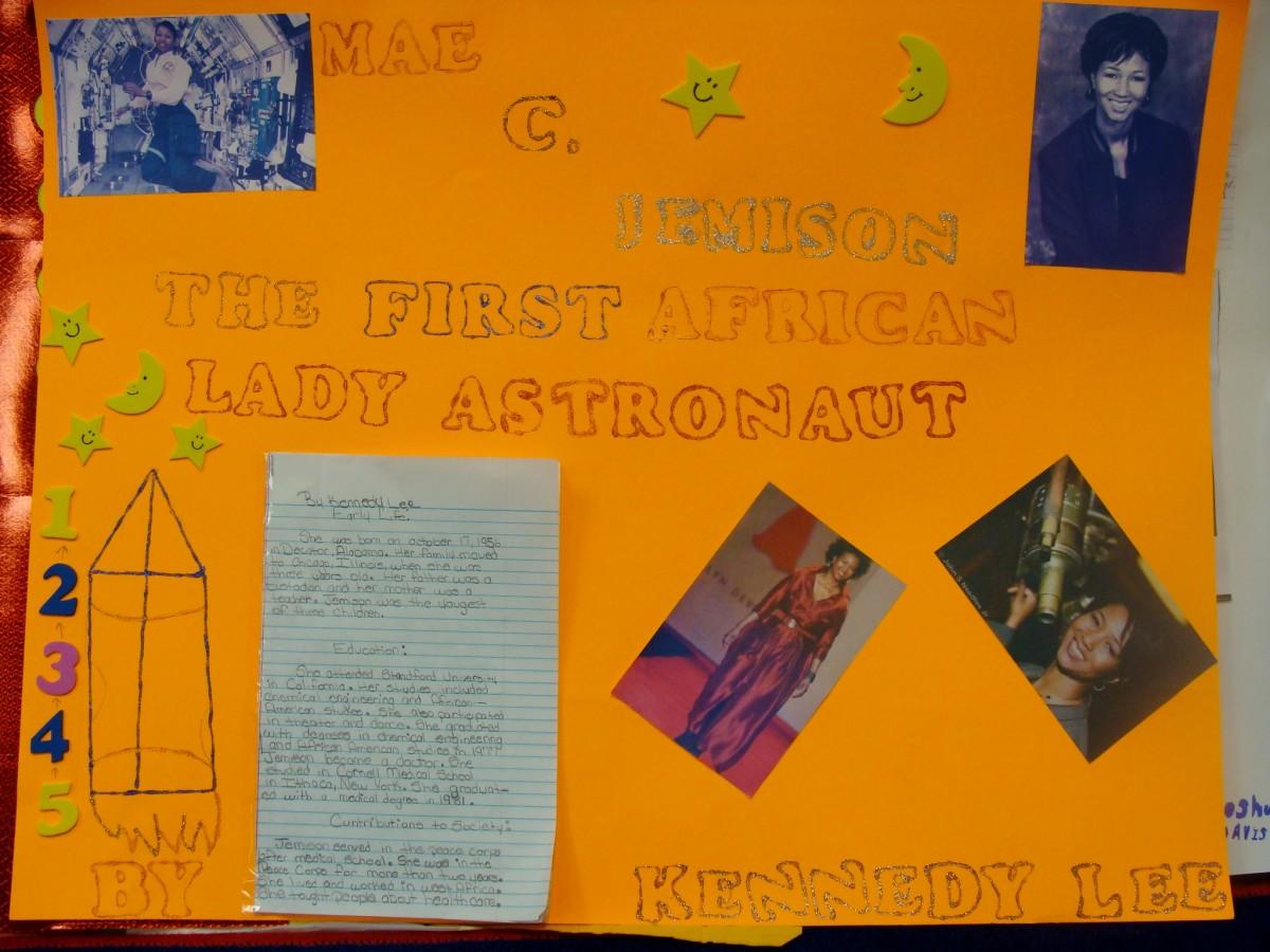 Poster of Mae Jemison