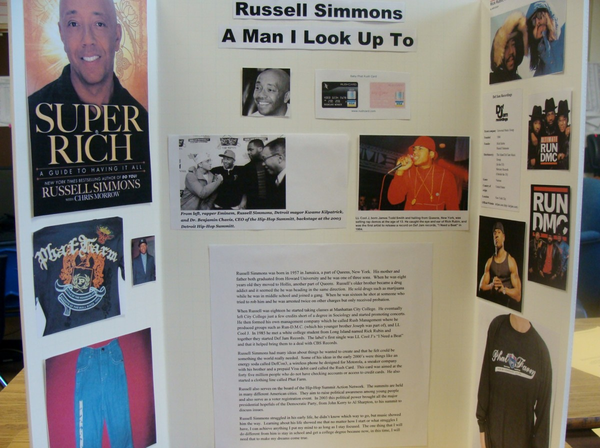 Poster of Russel Simmons.