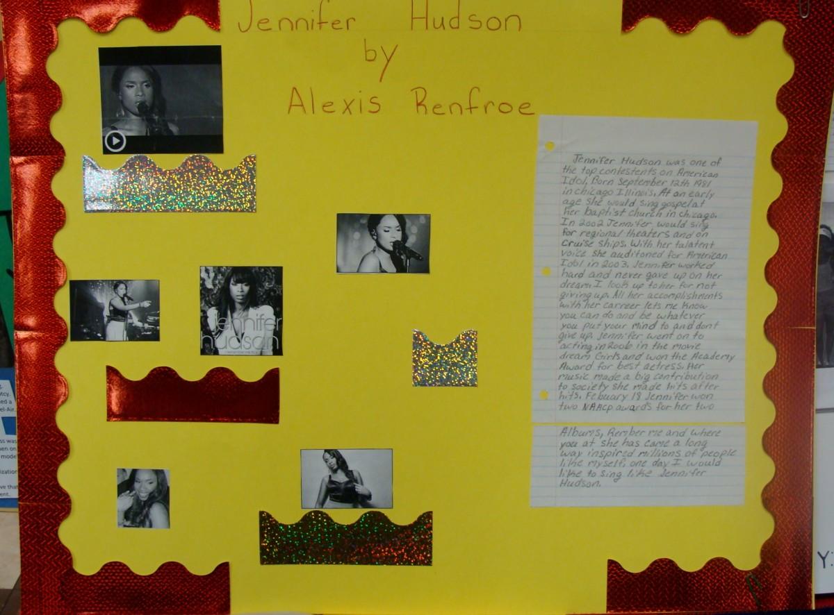 Project on Jennifer Hudson