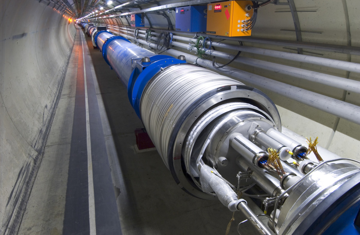 Another picture of the tube at CERN
