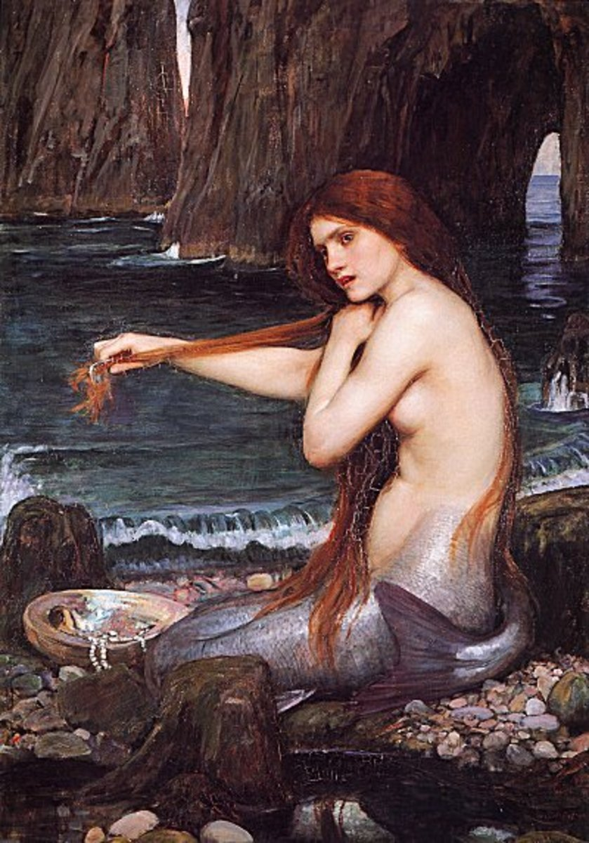 Merrow was the Irish name for mermaids.