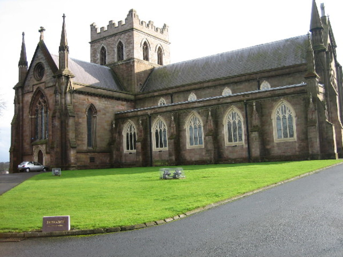 St Patricks Catherdal, Armagh. Church of Ireland.