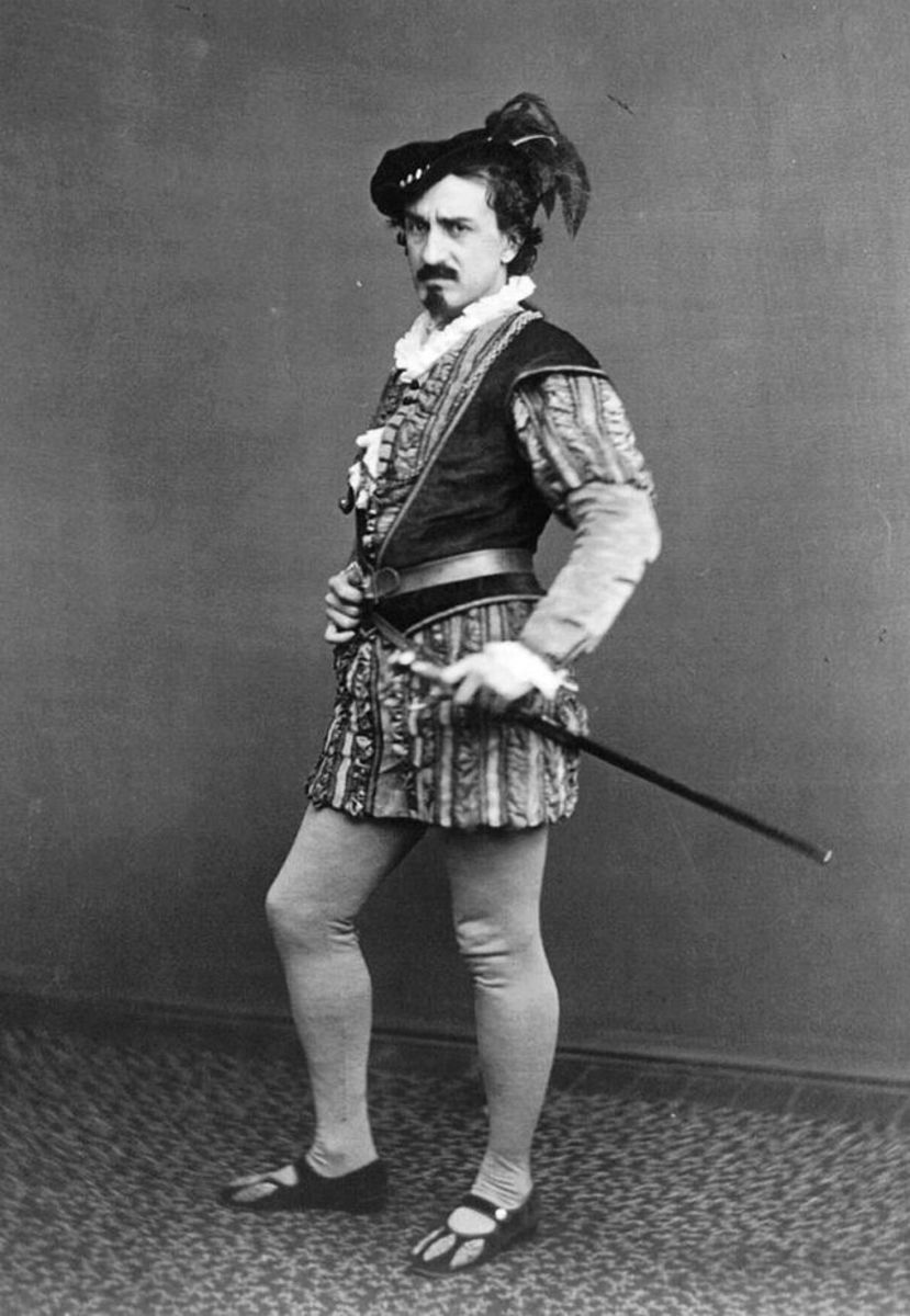 Edwin Booth as Iago, ca. 1870