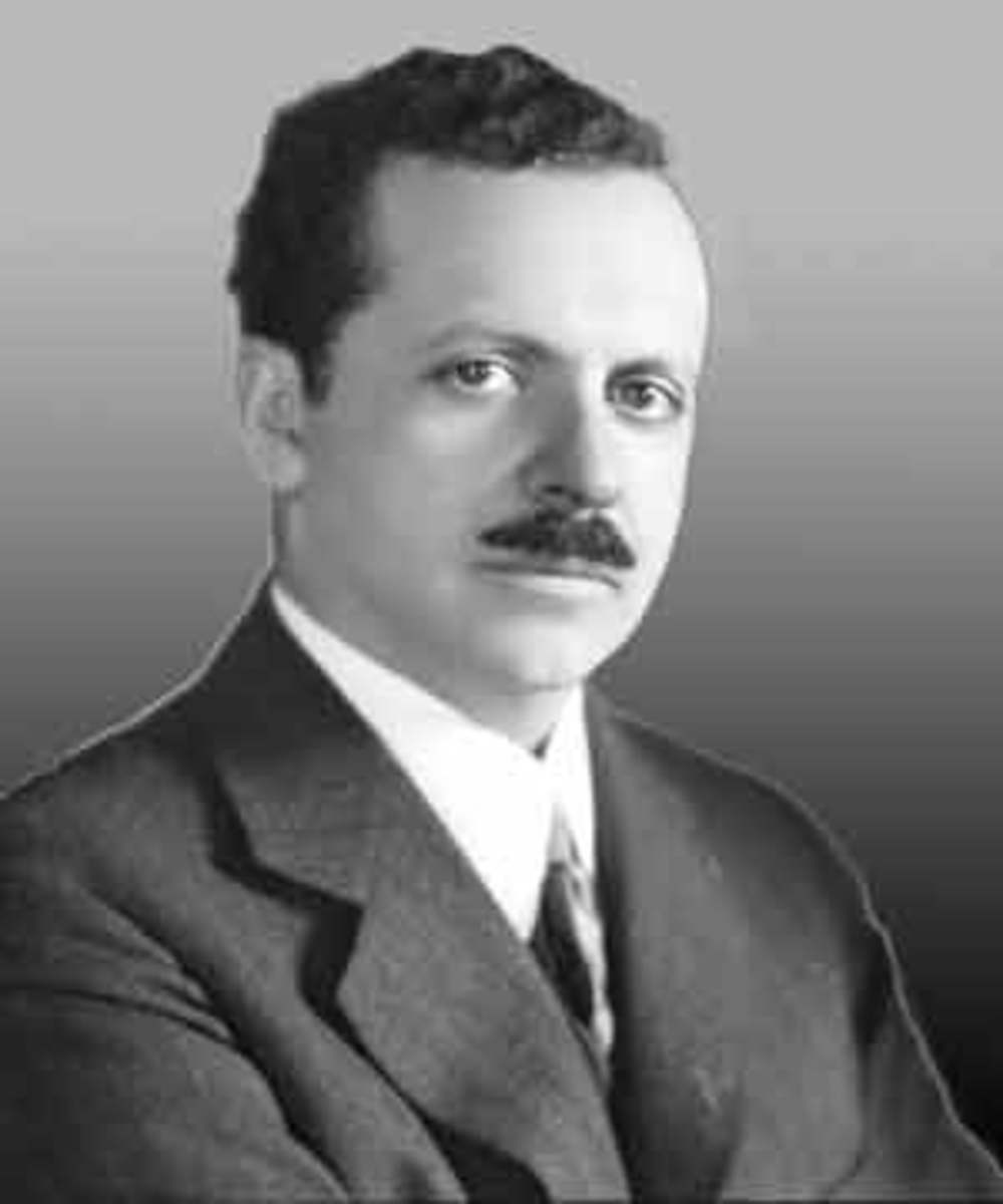 Slick and smooth...Edward Bernays, the man credited with seducing women into smoking