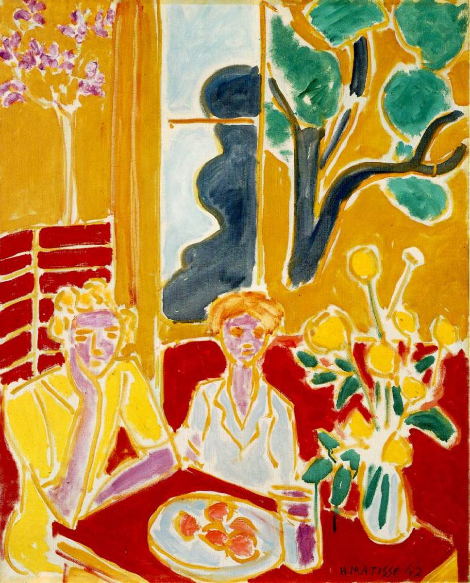 Henri Matisse is an artist with many expressive paintings to use with young children when critiquing art.