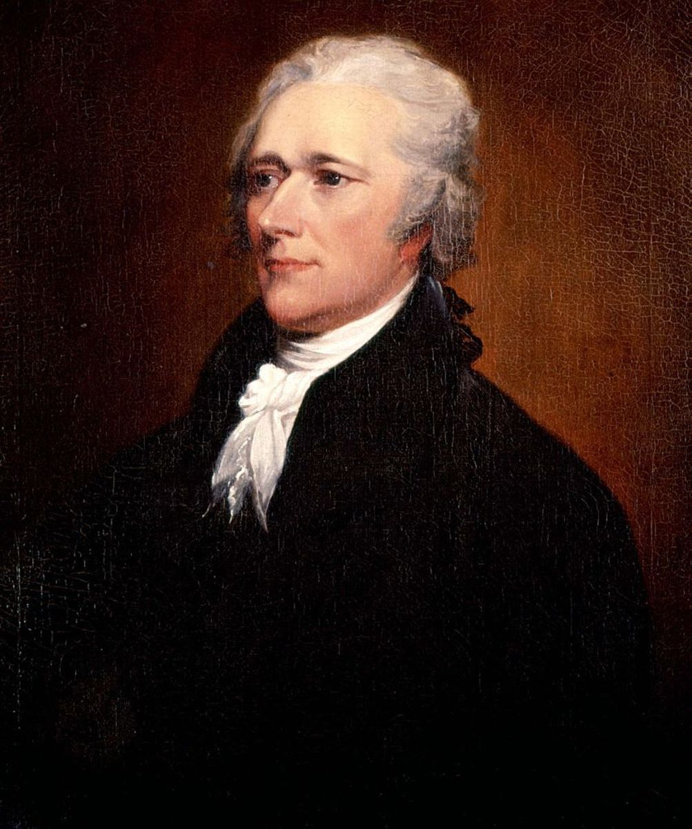 Washington's most important political appointment was Alexander Hamilton, the nation's first Secretary of the Treasury.