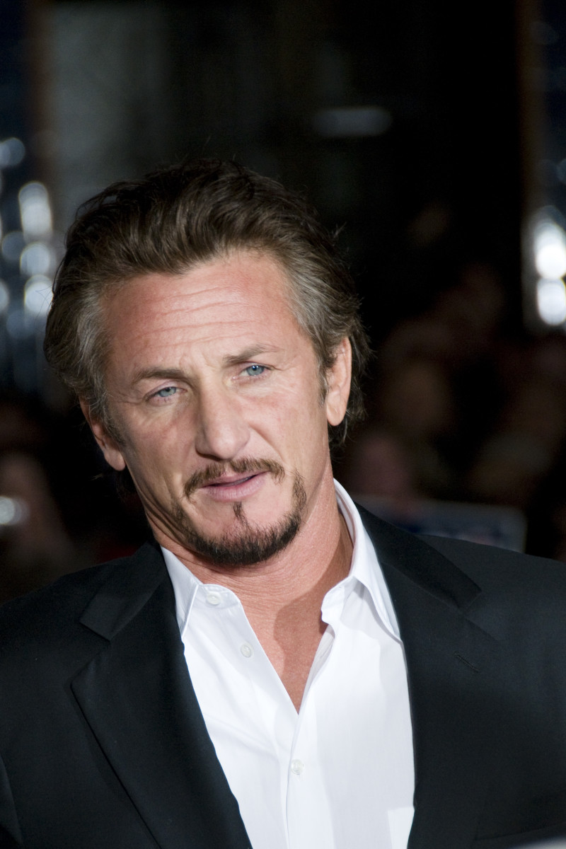Sean Penn at the premier for Milk at the Castro Theatre in San Francisco. (October, 2008)