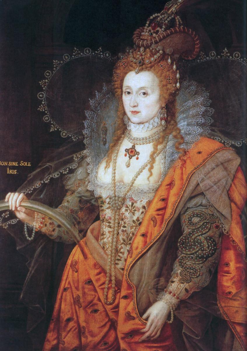 Elizabeth I circa 1600.