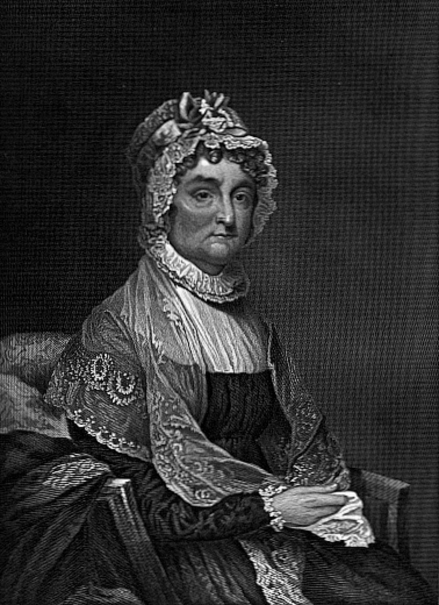 Abigail Adams was John Adams wife and mother of John Quincy Adams. They had a very healthy marriage