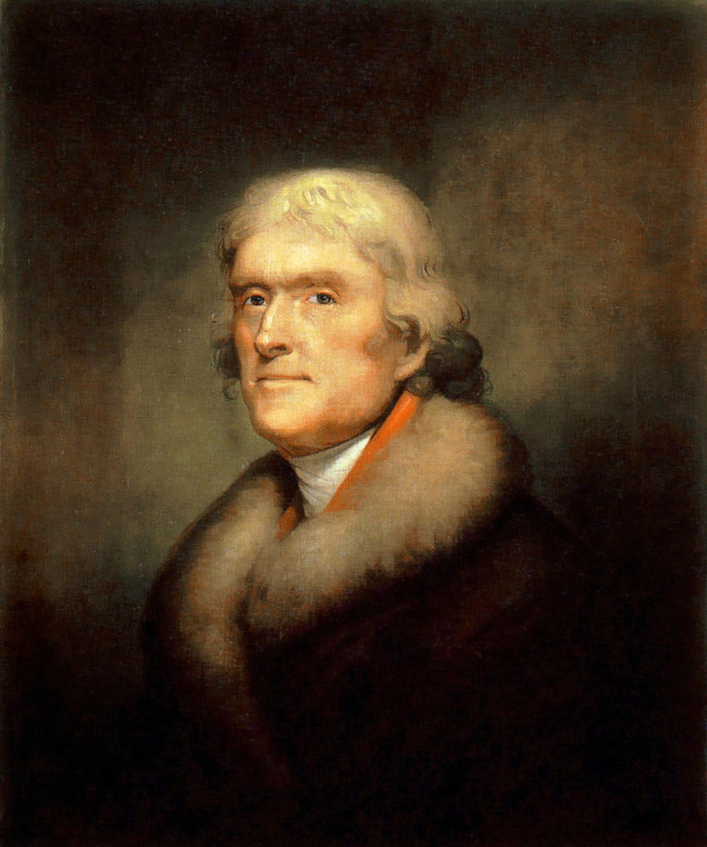 Thomas Jefferson was the author of the Declaration of Independence.
