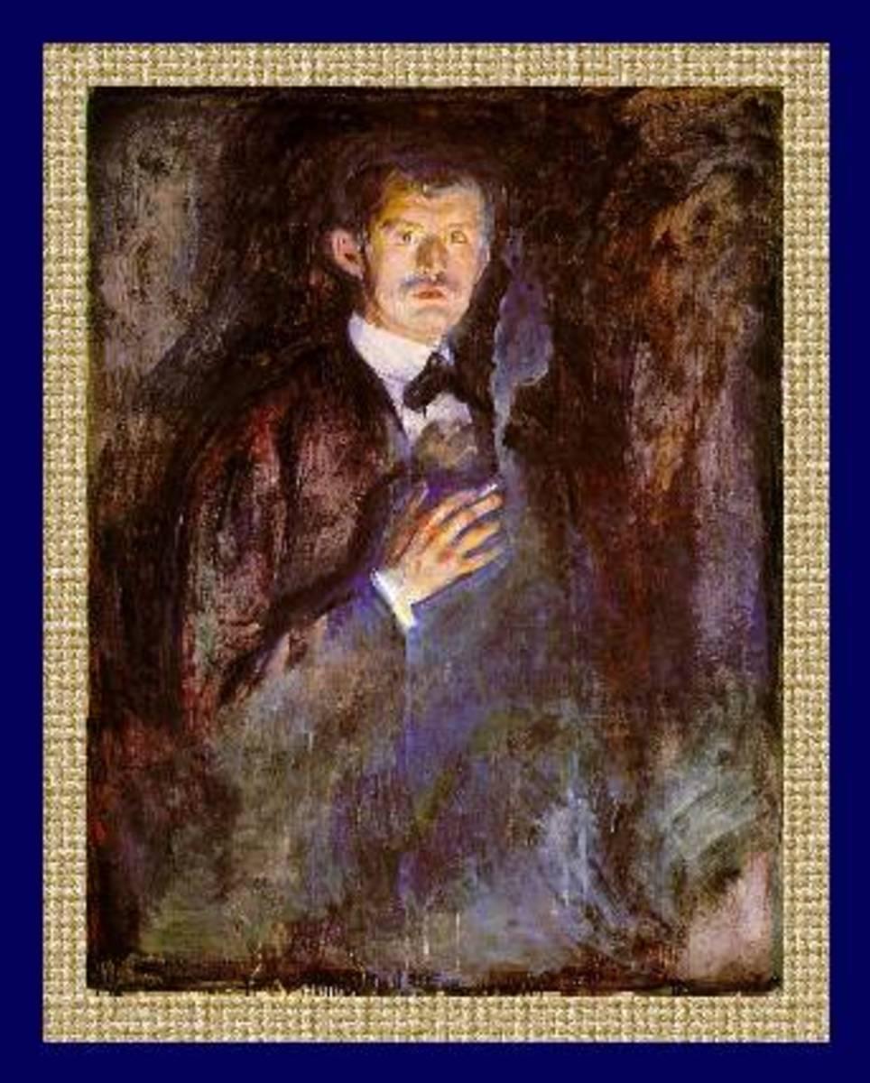 Edvard Munch - Self Portrait
