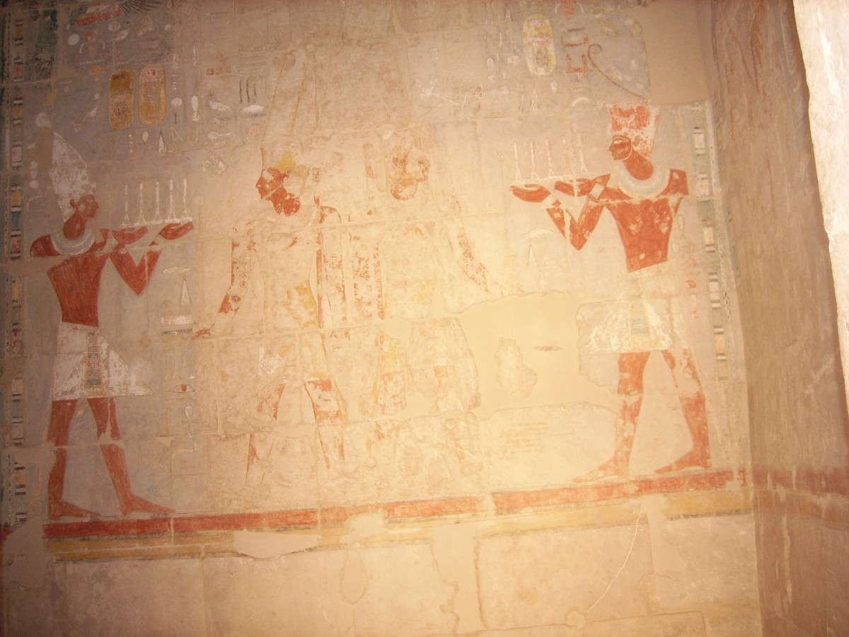 Mortuary temple of Hatshepsut at Deir el-Bahri
