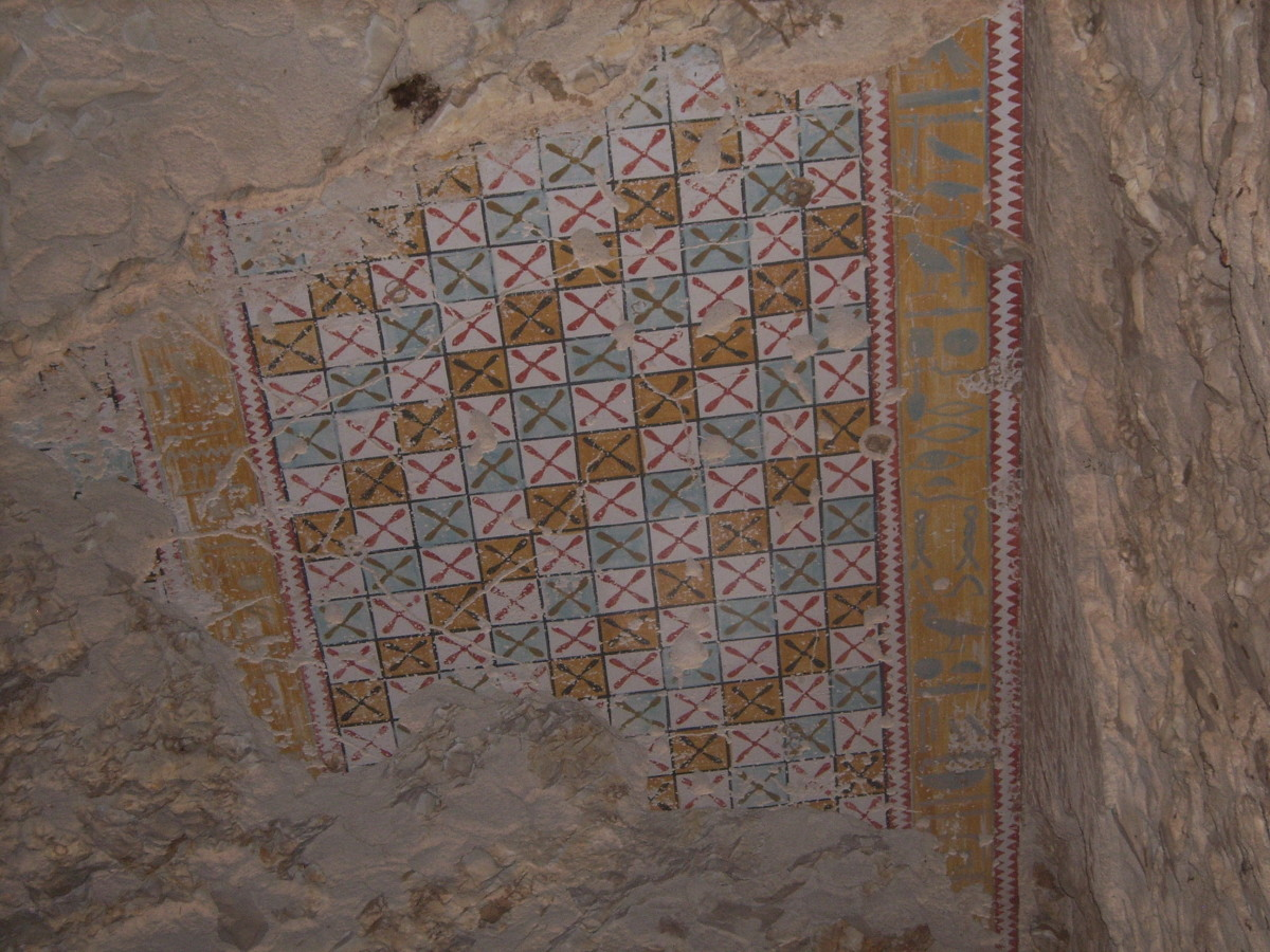 Ceiling decoration from the tomb of Senmut in the  Theban Necropolis