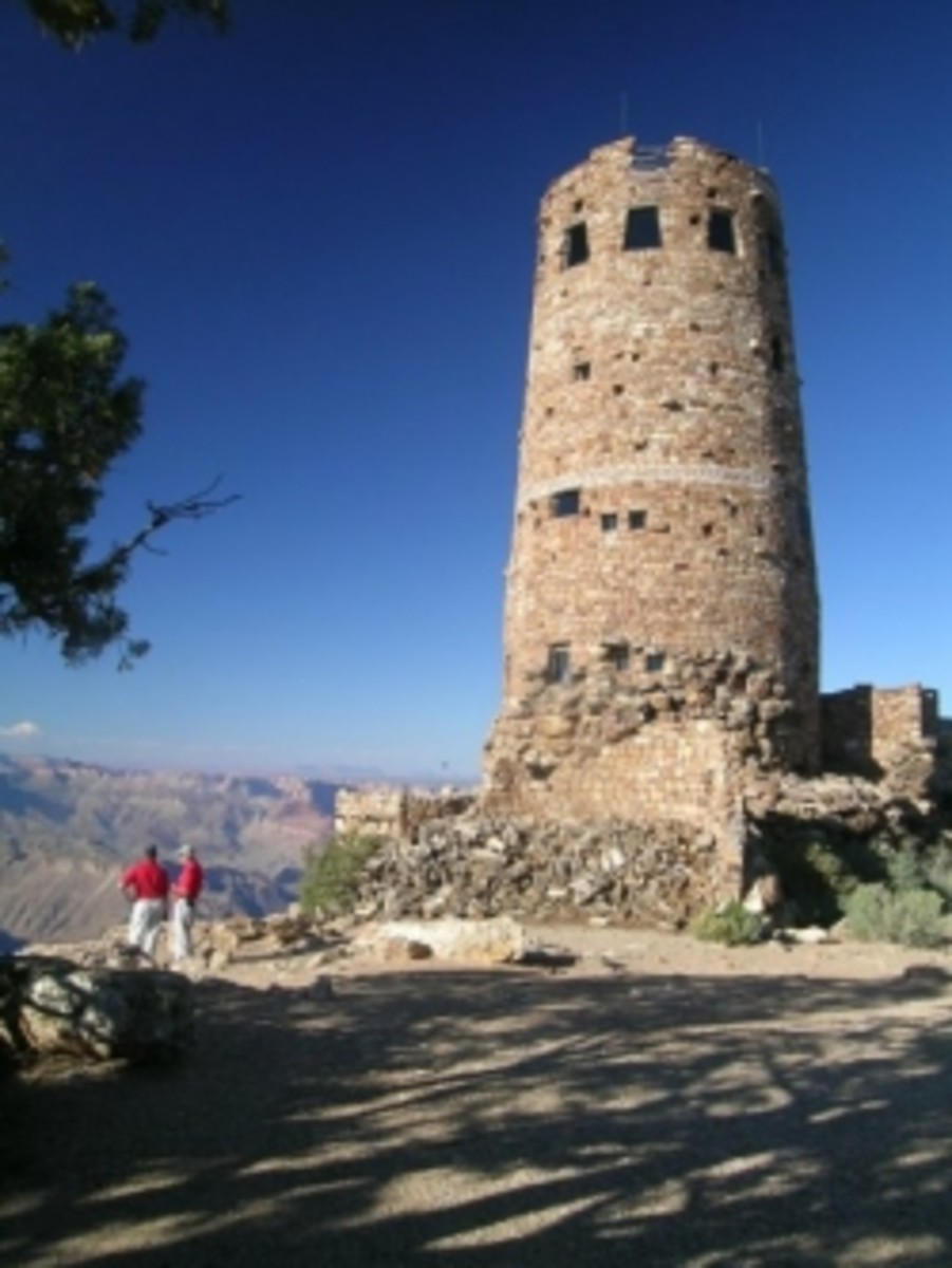 Desert View Watchtower designed by Mary Colter
