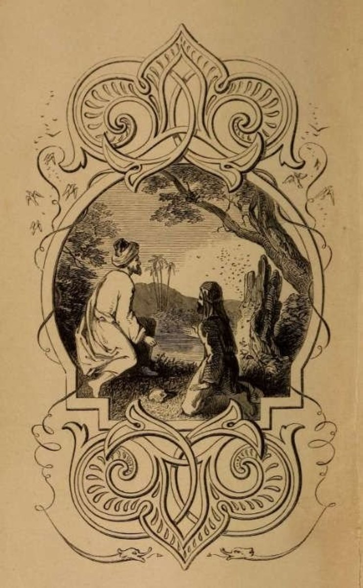 Fables of Bidpai, unknown illustrator (1852)
