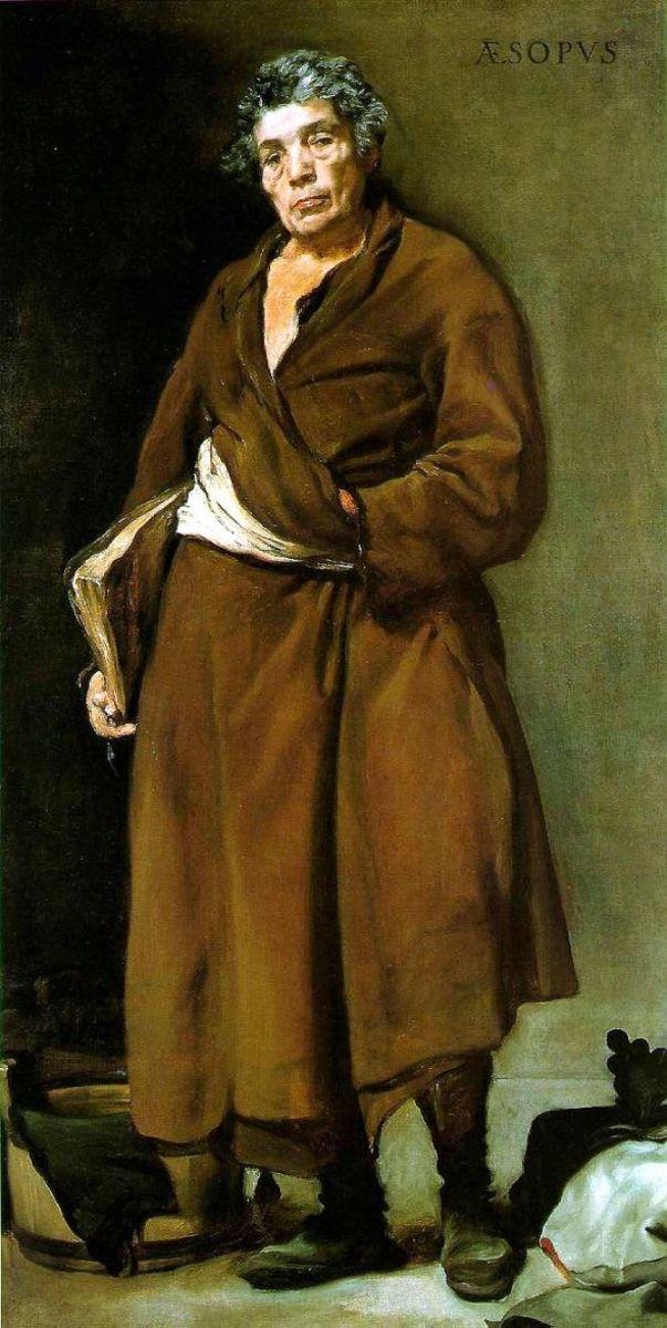 Velazque's Imagined Portrait of Aesop