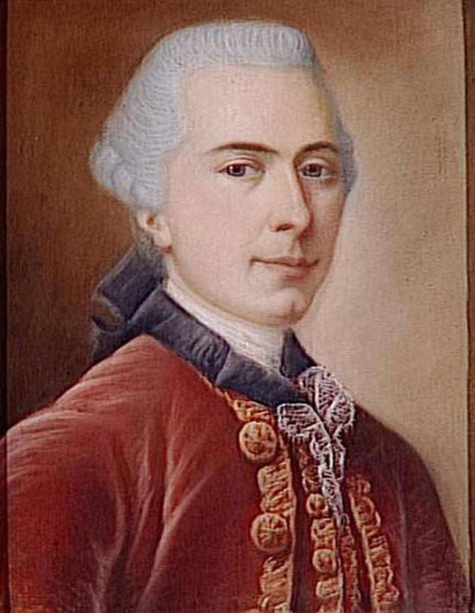 Portrait of Jean-Pierre Claris de Florian