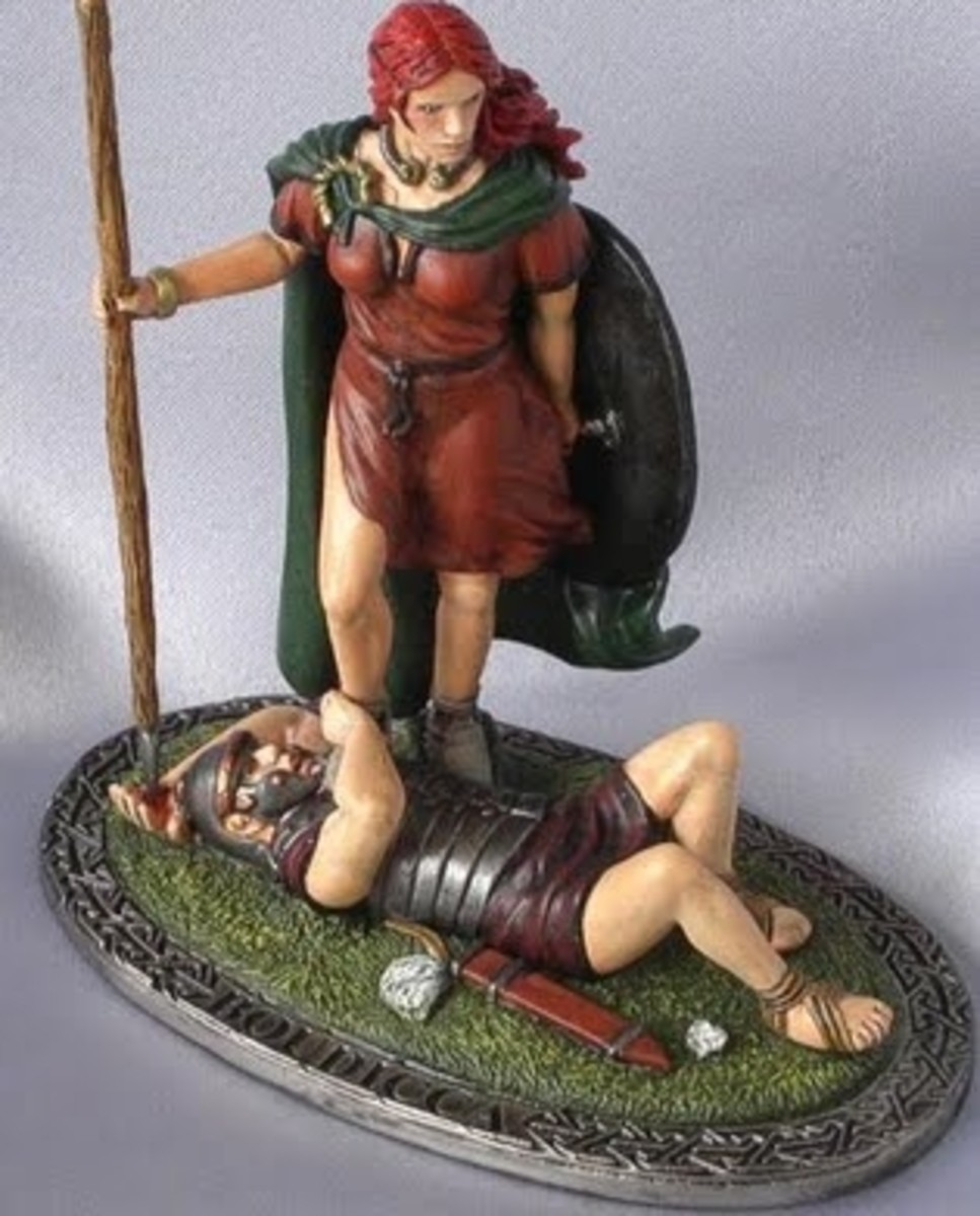 Boudicca, Queen of the Iceni Celts