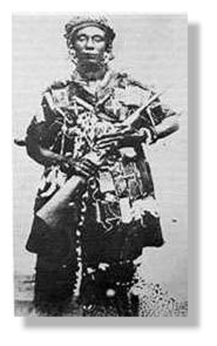 Yaa Asantewaa of the Ashanti