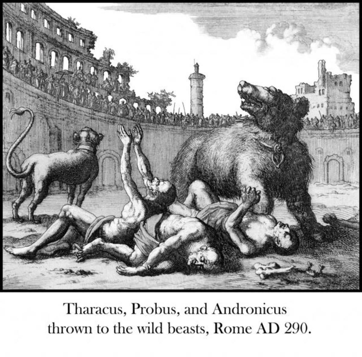 Thrown to Wild Beasts