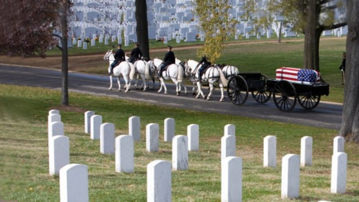 Military Funeral in Arlington National Cemetery