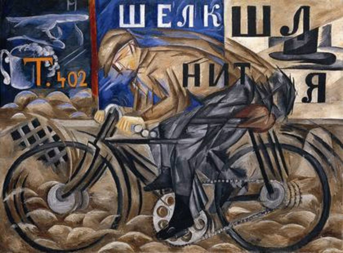 Example of Russian Futurism