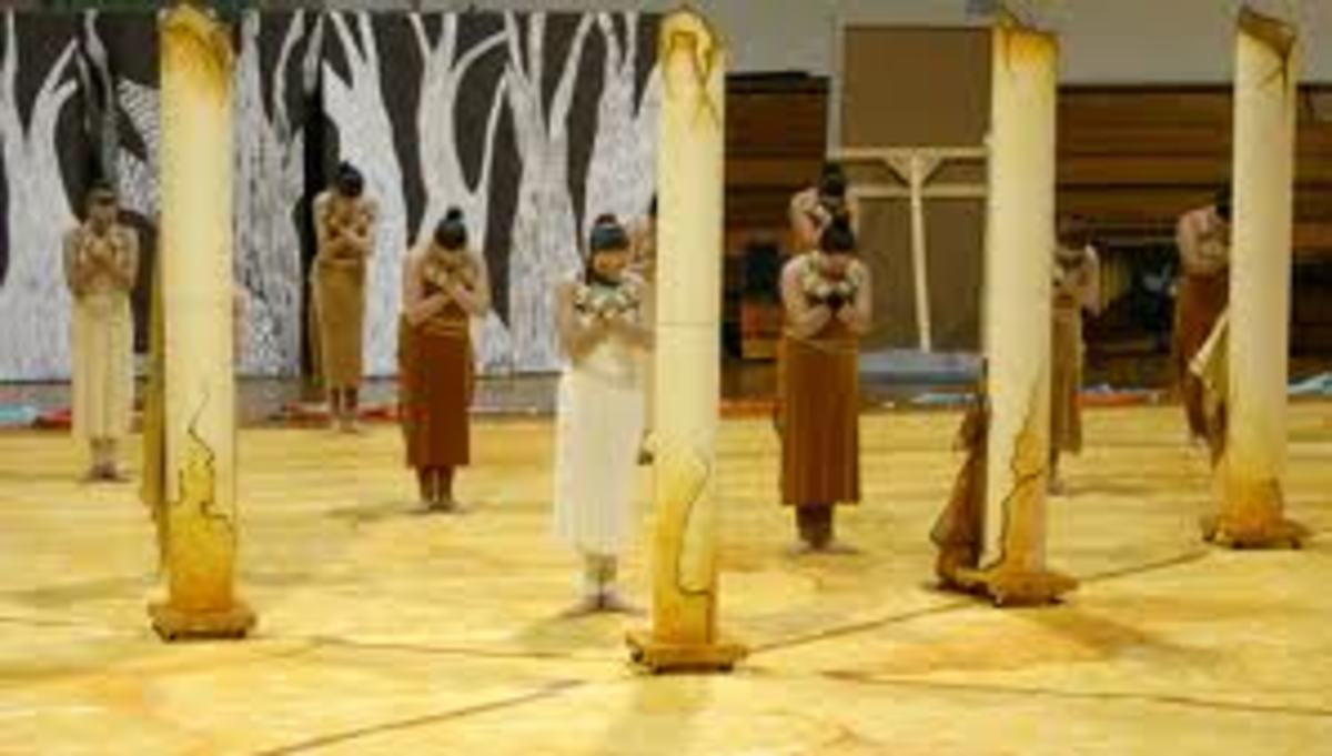 King Philip High School Winter Guard