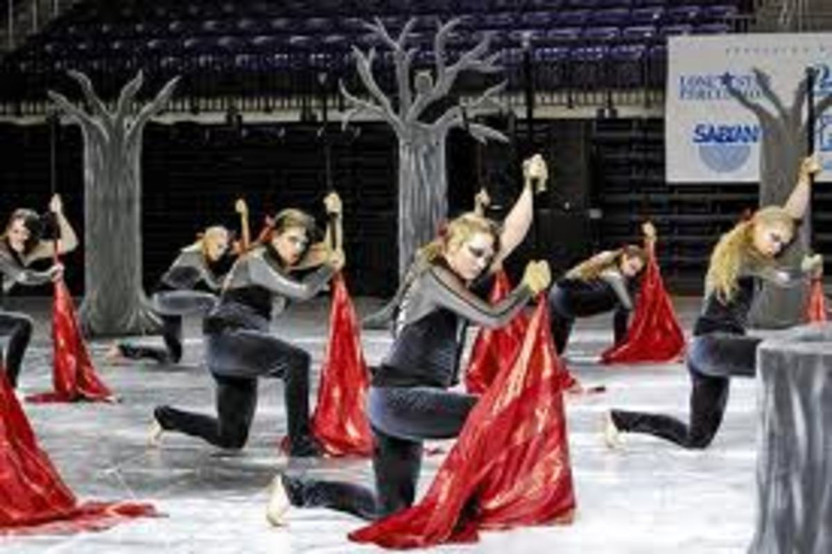 Karns High School Winter Guard