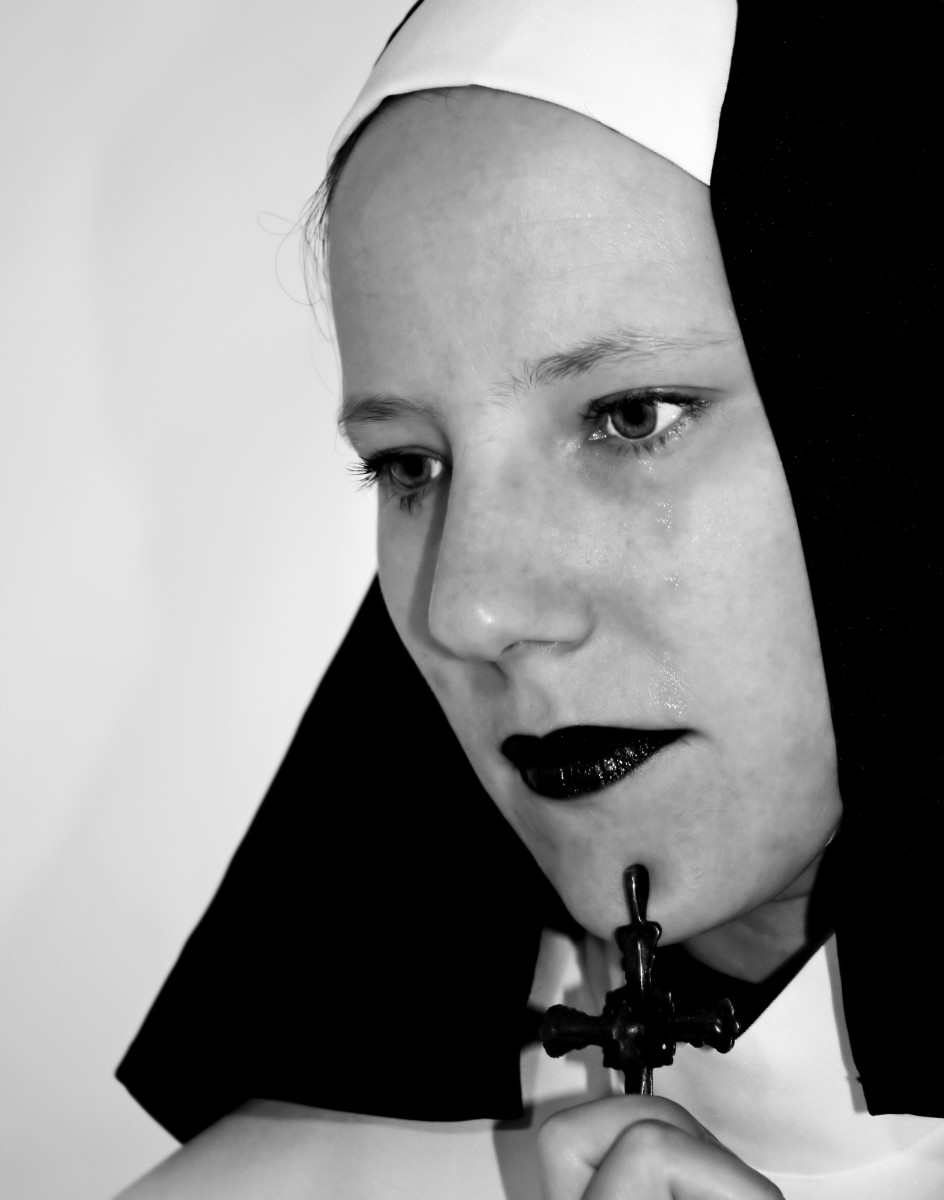 A prioress is a high ranking nun.