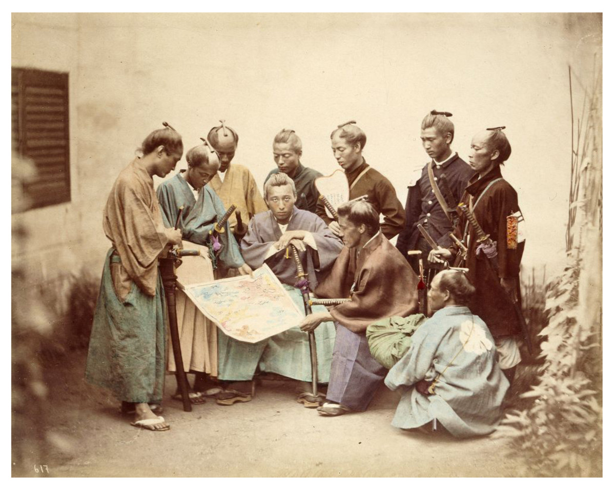 The bushido code of the samurai made integration into Japan's rapidly modernizing society a difficult task.
