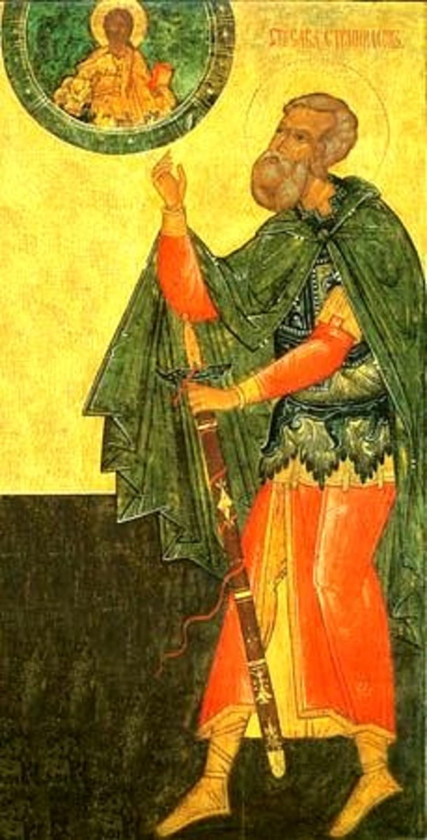 Sabbas Stratelates - Early Roman Christian Martyr