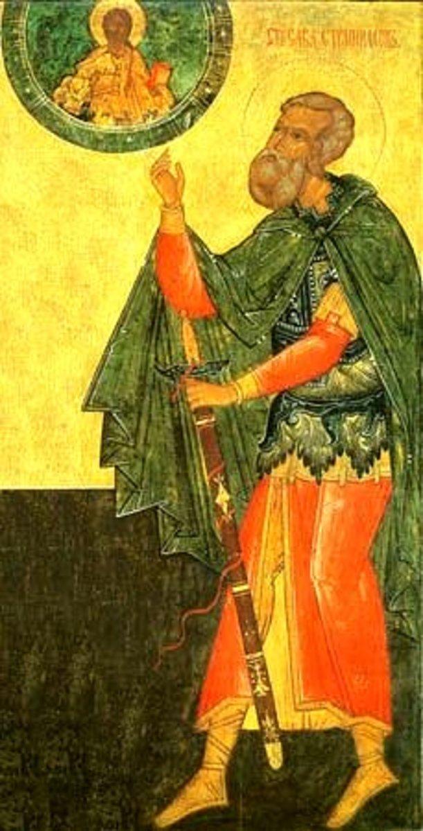 Sabbas Stratelates - Early Roman Christian Martyr