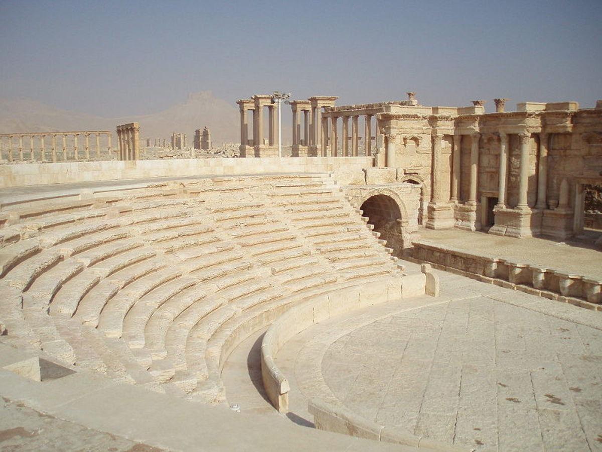 Roman Ampitheatre - Palmyra, Syria