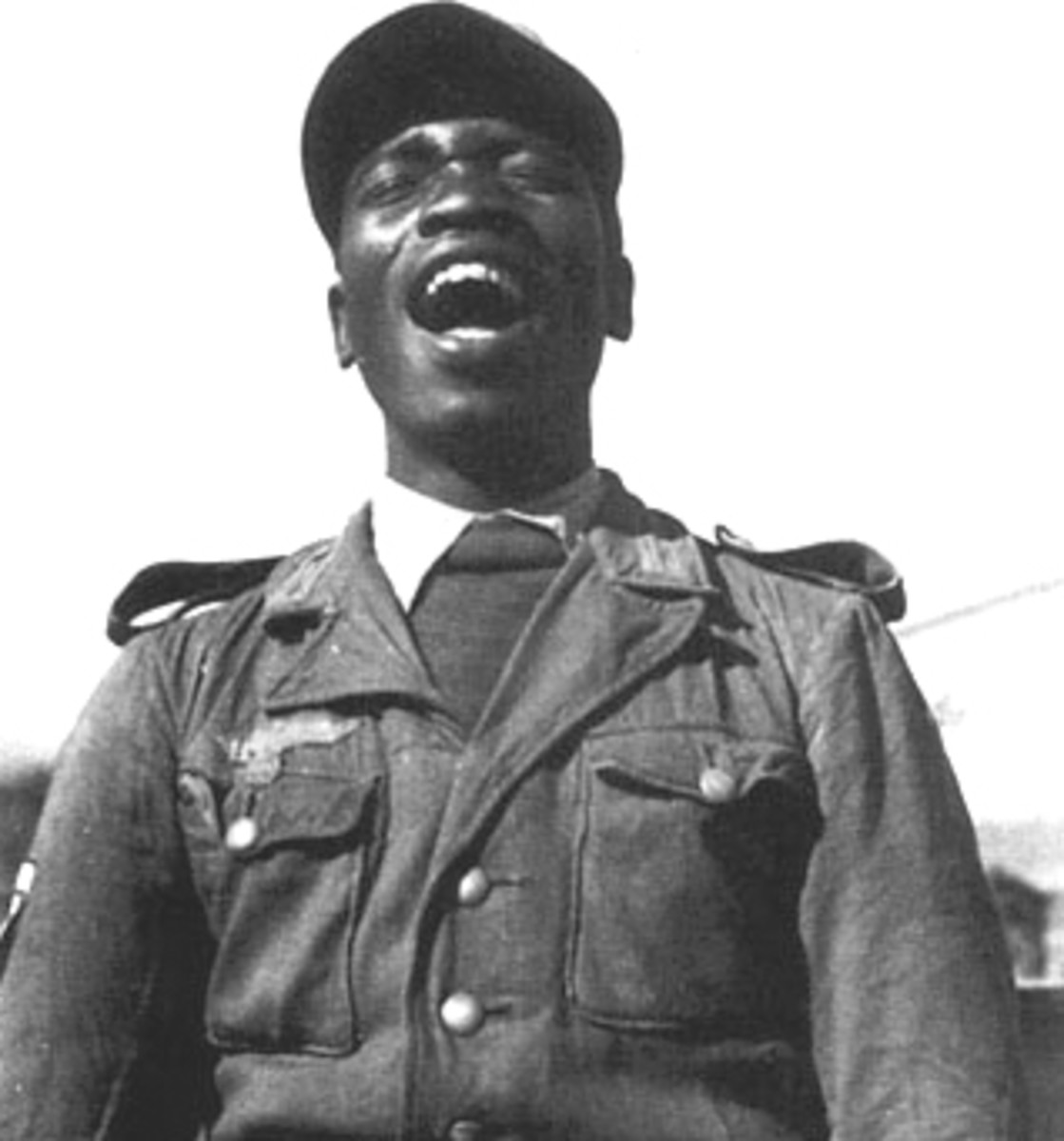 Another African-Muslim volunteer in the German Army