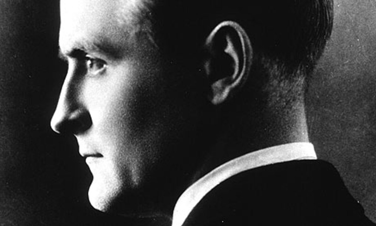 Francis Scott Key Fitzgerald,  Sept. 24, 1896 - Dec. 21, 1940