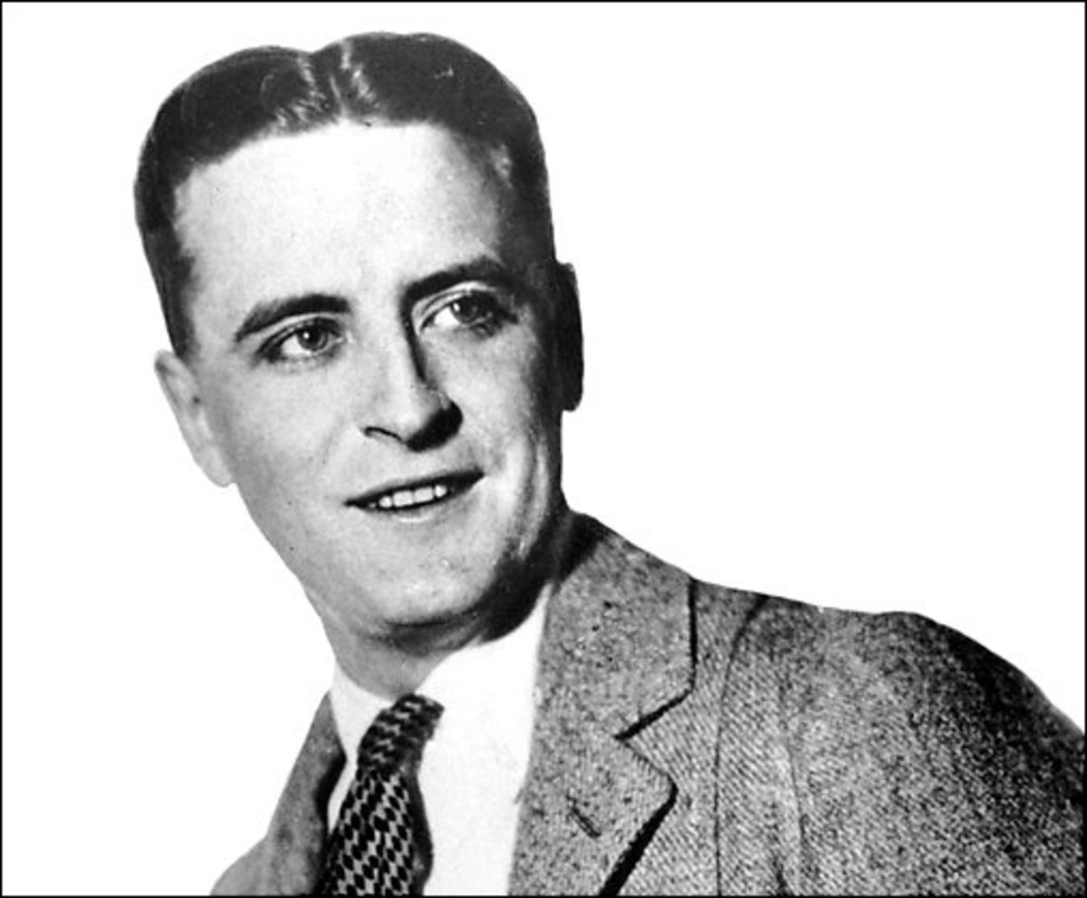 "Fitzgerald was among the writers and artists of the ""Jazz Age,"" a term he invented himself."
