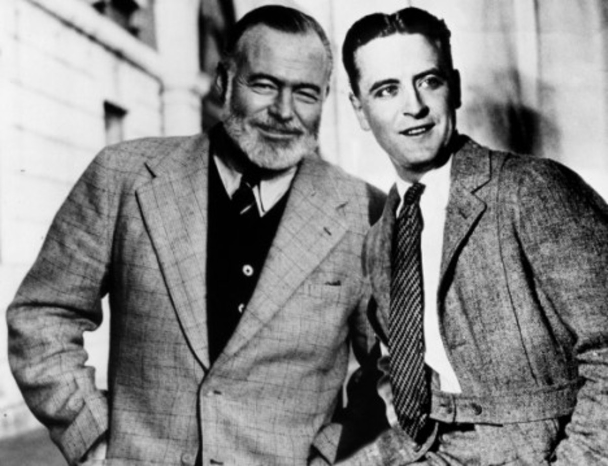 "Ernest Hemingway wrote about his friendship with ""Scott"" in A Moveable Feast, set in Paris."