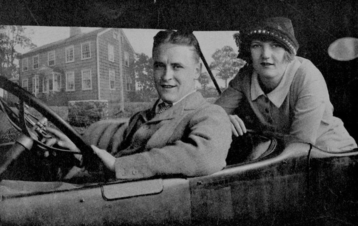 Fitzgerald was devoted to Zelda, though they had a distressing relationship.