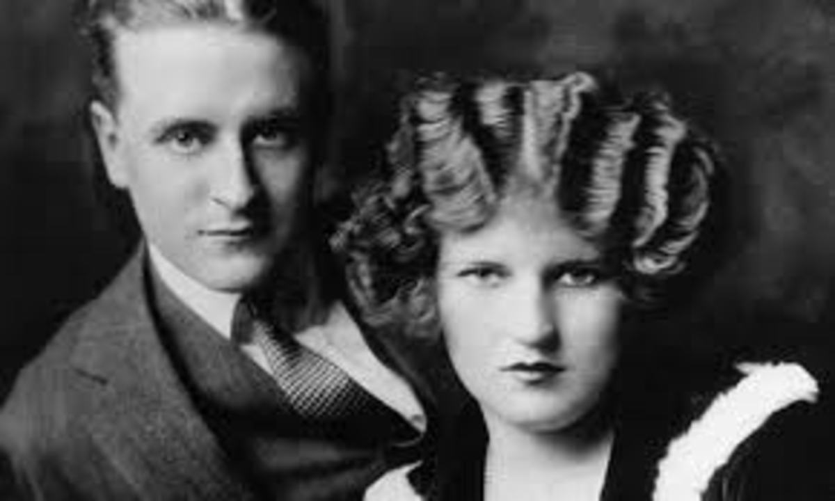 Fitzgerald and his wife, Zelda.