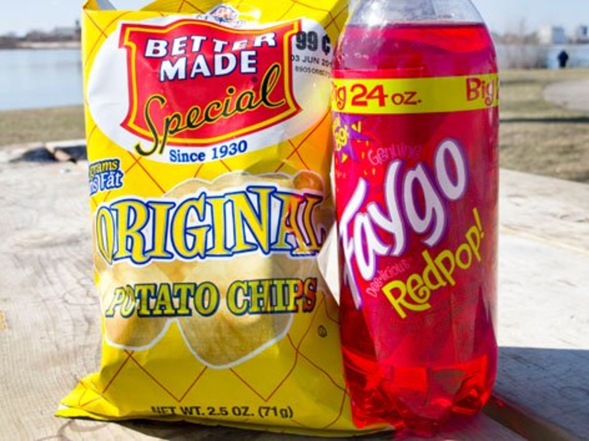Faygo and Better Made are Michigan made