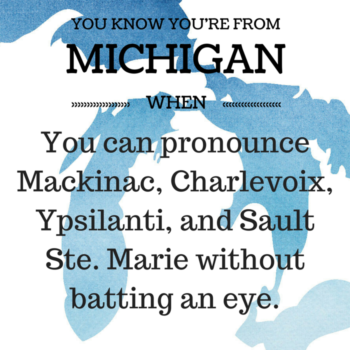 The Michigan Accent & Slang Words | Owlcation