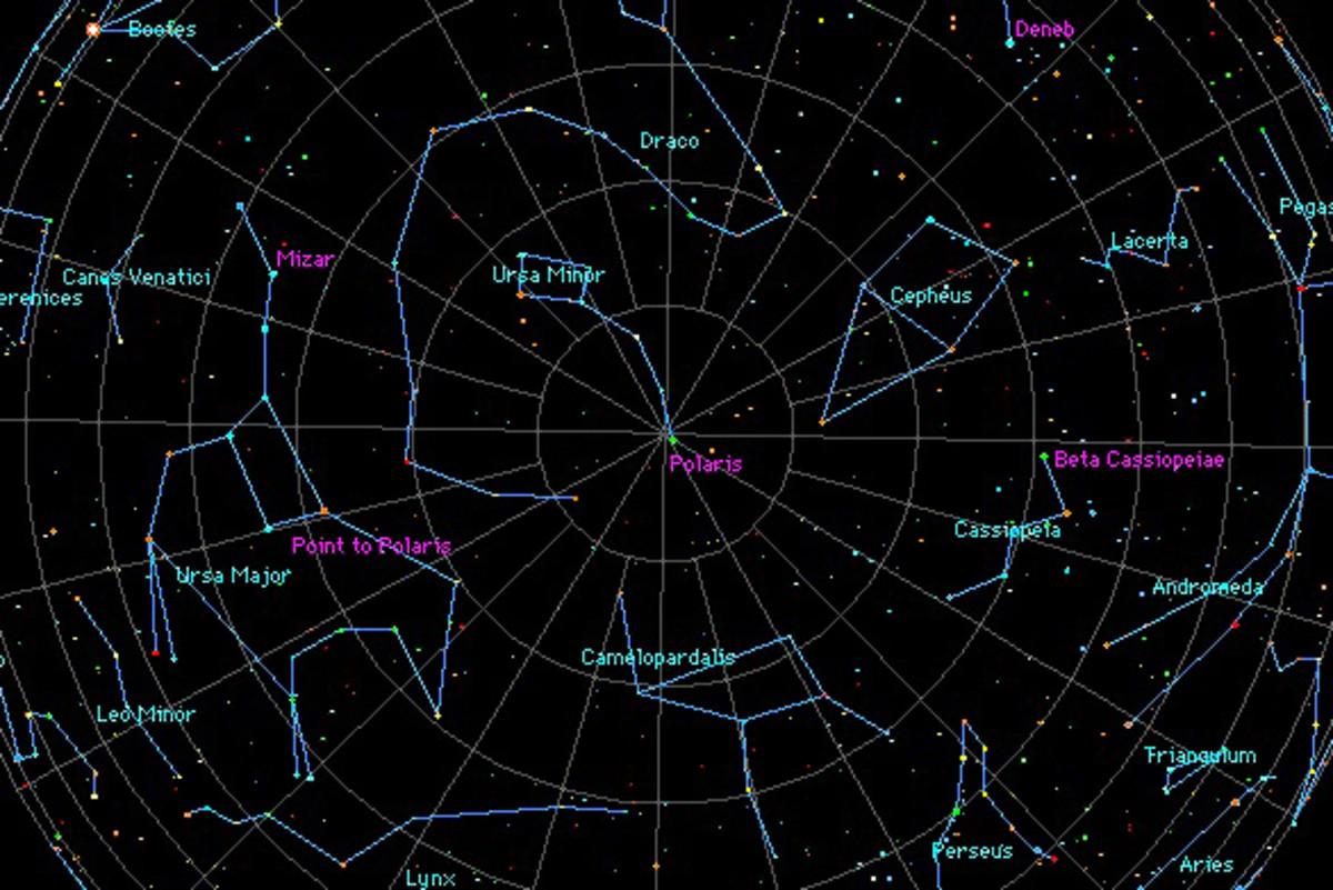 Night Sky Constellations Northern Hemisphere http://hubpages.com/hub ...