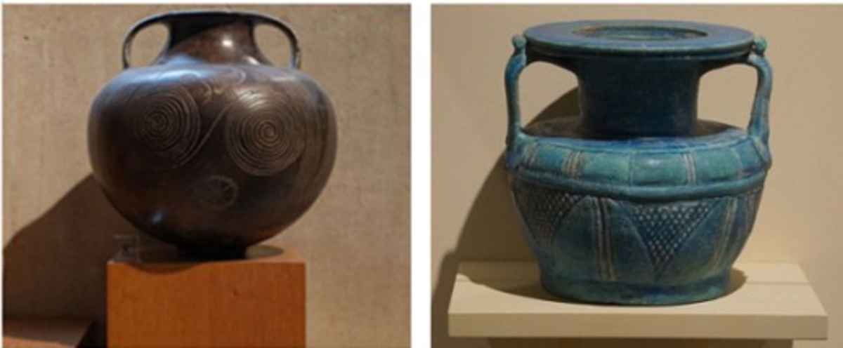 Amphora - Grain storing clay pots