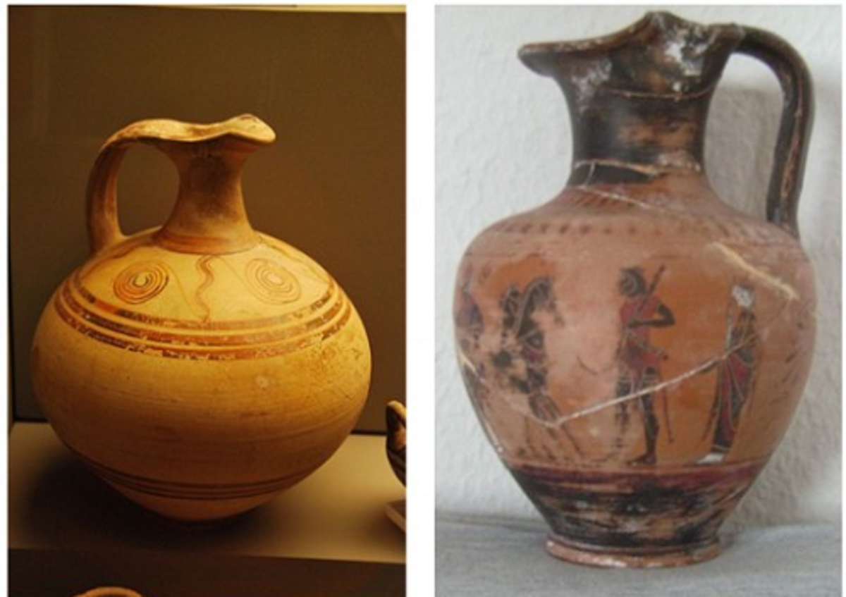 Ancient Greek Pottery Designs Styles Forms And Functions Owlcation