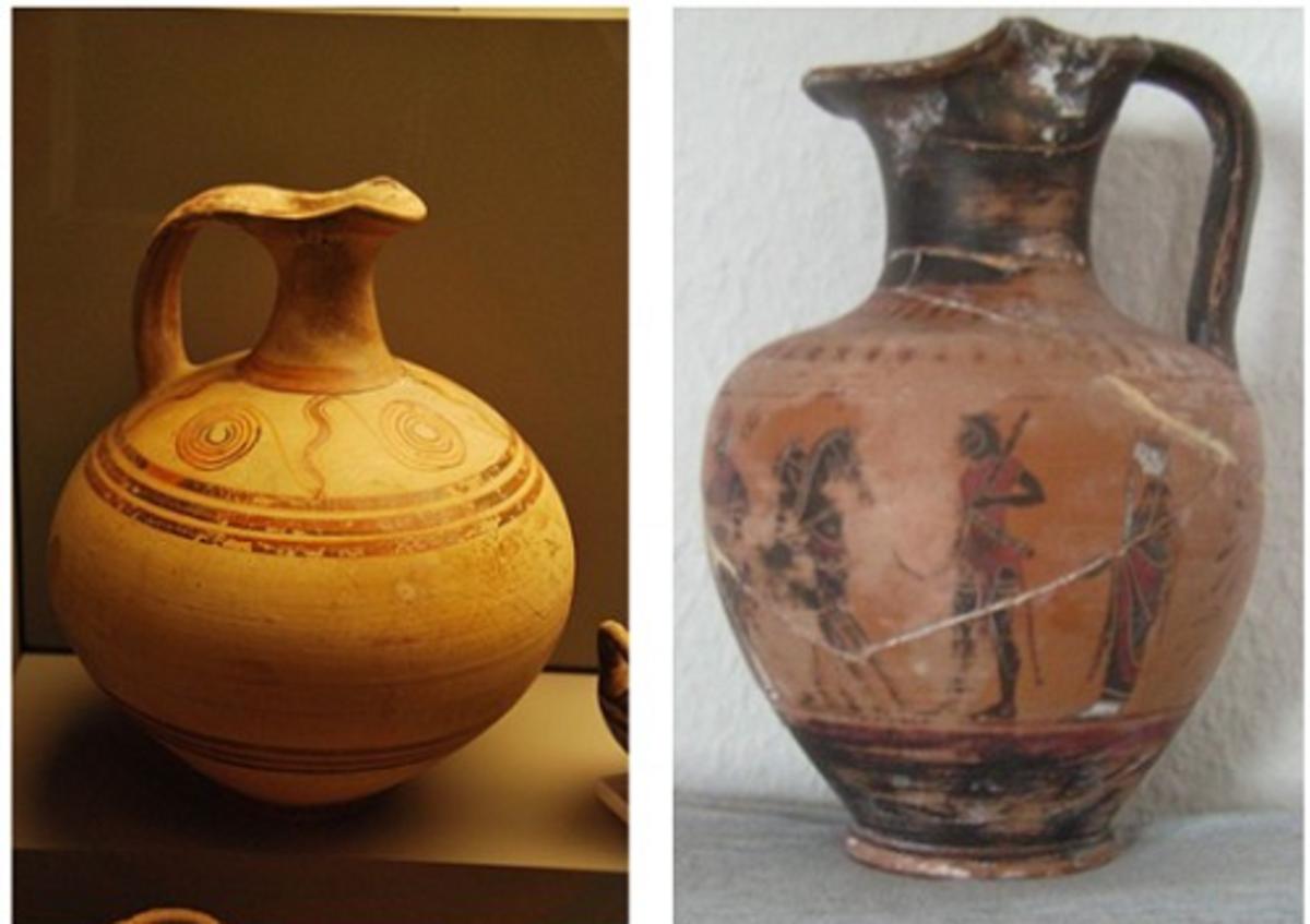 Oenochoe - Single handle water pitcher