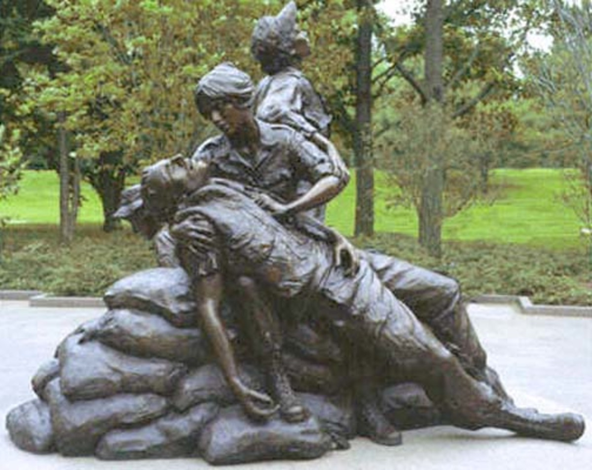 Vietnam Womens Memorial dedicated in 1993